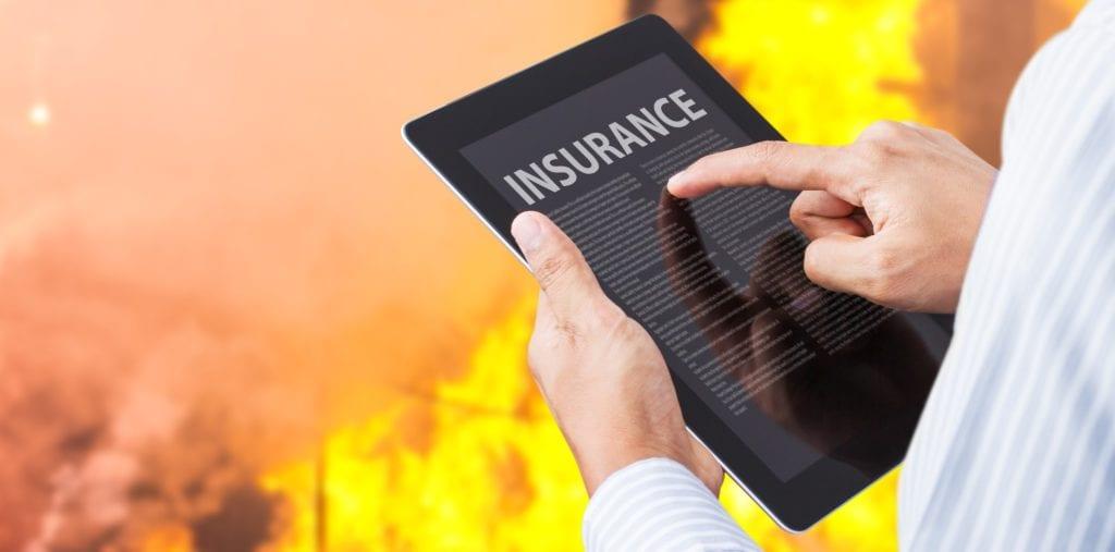 fire damage restoration insurance claim